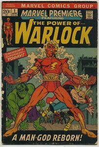 Marvel Premiere 1 First Solo Warlock