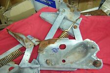 1951 Chrysler Deluxe HOOD HINGES  Desoto, Plymouth, Dodge