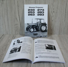 Massey Ferguson Betriebsanleitung Traktor MF 233 253 263 273 283 293 .