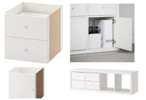 Ikea Kallax cupboard inserts