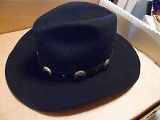 ca8ce934300 New in Box- Unisex Men Women Size 7 Black Wool Bailey s Western Cowboy Hat