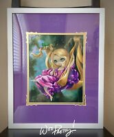 2014 Jasmine Becket Griffith Disney RAPUNZEL WonderGround Deluxe Art Print