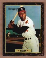 Hank Aaron '55 Milwaukee Braves Ultimate Baseball Card Collection #34