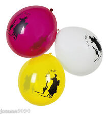 6 Balloons Cowboys Indians Boys Wild West Birthday Party Tableware Decorations