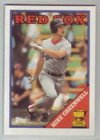 1988 Topps Baseball Boston Red Sox Team Set