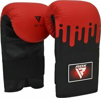 RDX Guanti da Sacco Boxe Muay Thai Guantoni Allenamento Kickboxing Sparring MMA