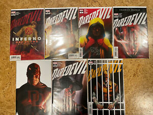 Daredevil 19 21 22 23 24 25 + Annual 1 Zdarsky Checcheto Marvel