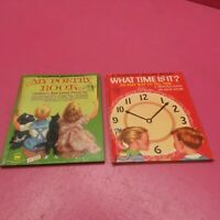 WONDER BOOK ROMPER ROOM MY POETRY BOOK, WHAT TIME IS IT? (G224)