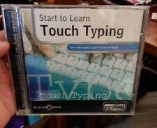 Let's Learn Touch Typing - PC CD ROM - FREE POST