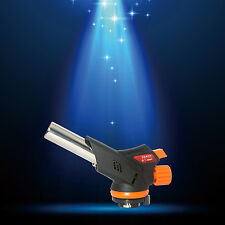 ConciseHome Micro Butane Gas Torch Lighter Culinary Creme Brulee Blow Torch fire