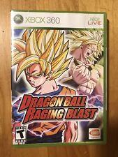 Dragon Ball Raging Blast Microsoft Xbox 360 BRAND NEW Y Fold Seam Security Strip