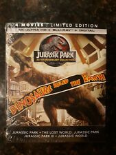 Jurassic Park 25th Anniversary Collection Limited Edition 4K UHD & Bluray *New