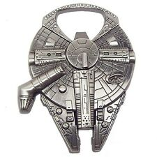 Kitchen Bar Tools Beer Wine Bottle Opener Millennium Falcon Spaceship Metal