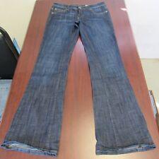 Chip & Pepper C7P Womens Jeans Size 5 x 32 La Jolla Flare Juniors Dark Blue