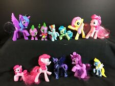My Little Pony Lot of 12 - Molded & Brushable Hair - Spike the Dragon - MLP