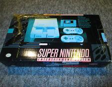 SNES Original Super Nintendo Console Super Set Complete in Box CIB - Vintage