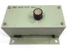JRC NCZ-777 Marina Radio Cámara Sobre Selector Switch Navigational Instrumento