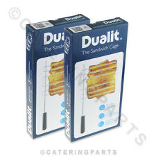 More details for 2 x genuine boxed dualit 00499 classic vario newgen sandwich toaster wire cages