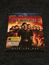 The Expendables 2 (Blu-ray Disc, 2012, Includes Digital Copy; UltraViolet) NEW
