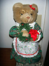 Mrs Claus Teddy Bear Christmas Music 3 Tunes