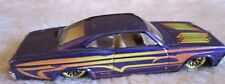 Hot Wheels 1965 Chevrolet Impala Purple Low Rider (Mattel, 1996)