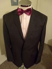 """M&S Autograph Men's Nautral H'Bone 'THE BEAK' Suit Jacket C40"""" Reg Classic Wool"""
