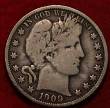 1909-O New Orleans Mint Silver Barber Half Dollar