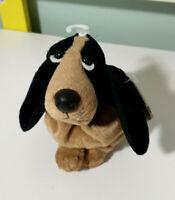 Hush Puppies Bassett Hound Bean Bag Plush Toy Dog 10cm Tall with Swing Tag!