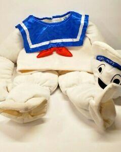 Stay Puft Marshmallow Man Costume Baby Toddler KidsGhostbusters Halloween 18m-2T