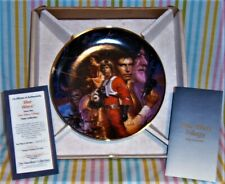 Star Wars Triology Collectors Plate with Coa #3837C The Hamilton Collection