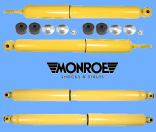 Set 4 Shock Absorbers Gas-Magnum F & R Monroe For FORD F250 F350 Super Duty RWD