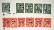 US Stamps Hawaii Overprints #646-648 ALL MNH W/Several MH Extras of Each CV=$85