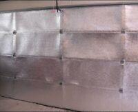US Energy Premium Garage DoorInsulation Kit ONE CAR GARAGE DOOR 8Wx7H8Wx8H