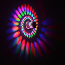 1PC 3W Spiral LED Light Wall Sconce Lamp KTV Aisle Hotel Bar Bulb Bedroom Decor