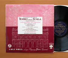33CX 1402 Cavalleria Rusticana I Pagliacci Maria Callas Columbia Blue Gold EX/VG