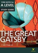 The Great Gatsby: York Notes for A-level by Julian Cowley (Paperback, 2015)
