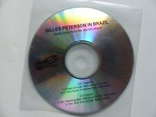 CD   PROMO 4 titres GILLES PETERSON In Brazil