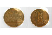 """RARE médaille bronze """" la commune de paris """",10 Aout 1792"""