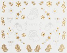 Nailart Stickers Autocollants Ongles Scrapbooking Déco Noël Etoiles Moufles