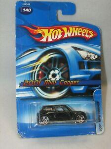 New!! Hot Wheels 2001 Mini Cooper * Black * 1/64 Scale * FREE SHIPPING!!