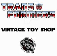 Vtg G1 G2 Transformers Action Figures Toy Shop Autobots Decepticons 80s 90s
