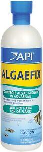 API Algaefix Marine Water Conditioner, Algae Control Solution 16 Oz