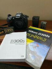 Nikon D D300S 12.3 MP Digital SLR Camera - Black (Body Only)