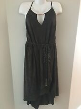 City Chic Ladies Plus Size XL/22 Mock Suede Evening Cocktail dress