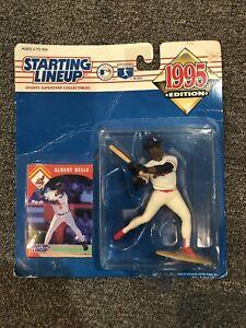 Starting Lineup 1995  ALBERT BELLE Baseball MLB Action Figure Cleveland Indians