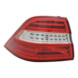 MB2804107 New Replacement Driver Outer Tail Light Assembly Fits 2012-2015 ML350