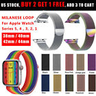 Milanese Loop Band iWatch Strap For Apple Watch Series 6 5 4 3 2 1 SE 40/44 3840