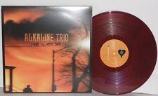ALKALINE TRIO Maybe I'll Catch Fire LP Purple Marble Vinyl Matt Skiba Punk Rock