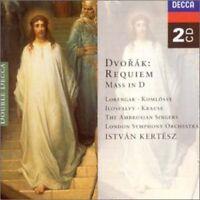 Istvan Kertesz, A. Dvorak - Requiem / Mass in D [New CD] UK - Import