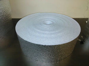 """6 x 25 Reflective Foam Core Insulation HVAC Faucet Pipe Air Duct Wrap Roll 1/4"""""""